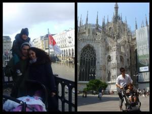 Izq.: Hamburg, Alemania Der: Milan, Italia @Love2betheirmom
